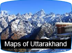 maps of uttarakhand