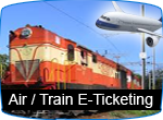Air / Train Ticketing